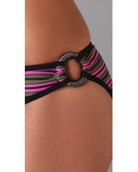 Brette Sandler Swimwear - Black Alexa Bandeau Bikini - Lyst