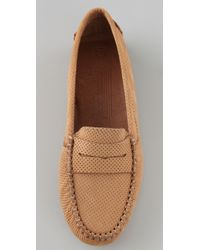 Jeffrey Campbell | Brown Mocky Penny Driving Flats | Lyst