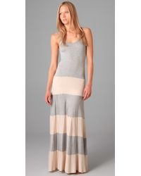 Karina Grimaldi | Gray Biscot Long Tank Dress | Lyst