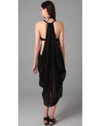 Mara Hoffman - Black Embroidered Dashiki Cover Up - Lyst