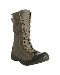 Converse | Green Olive Rubberized Lace-up Boots for Men | Lyst