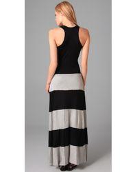 Karina Grimaldi   Black Biscot Long Tank Dress   Lyst