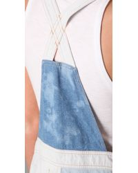 Shakuhachi | Blue Patch Overalls | Lyst
