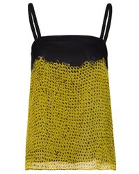 Proenza Schouler | Yellow Simple Camisole | Lyst
