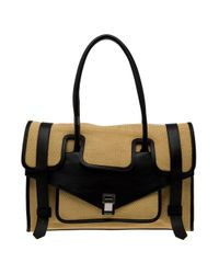 Proenza Schouler | Natural Straw Carry All Bag | Lyst
