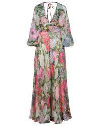 Paul & Joe | Multicolor Osmose Long Dress | Lyst