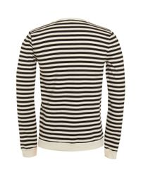A.P.C. - Blue Sailor Striped Sweater for Men - Lyst