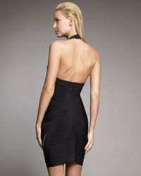 Hervé Léger | Black Corozo Bandage Dress | Lyst