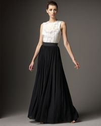 Redux Charles Chang-lima - White Pleated Wide-leg Pants - Lyst