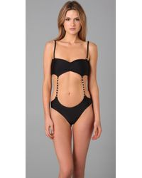 Tori Praver Swimwear | Black Collette One Piece | Lyst