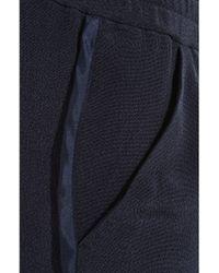 3.1 Phillip Lim | Blue Silk Micro Track Shorts | Lyst