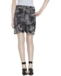Acne Studios | Black Coral Tie-dye Silk Shorts | Lyst