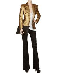 Balmain - Metallic Brocade Jacket - Lyst