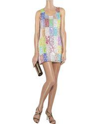 Jonathan Saunders | Multicolor 'bevan' Dress | Lyst