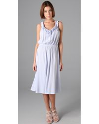 Textile Elizabeth and James | White Eva Dress | Lyst