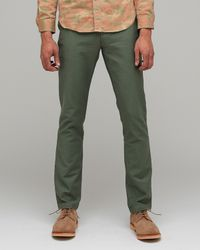 Penny Stock | Green Enlisted Penny Pant for Men | Lyst