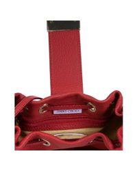 Jimmy Choo - Red Calf Leather Ryad Crossbody Bag - Lyst