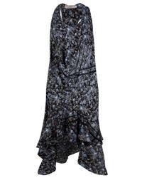 Preen By Thornton Bregazzi | Blue Print Reflect Dress | Lyst