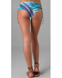 OndadeMar | Blue Sea Of Atlas Bikini Bottoms | Lyst