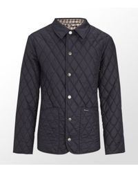 Aquascutum | Blue Quilted Jacket for Men | Lyst