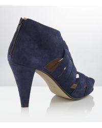 Carvela Kurt Geiger | Brown Aiden Leather Sandal | Lyst