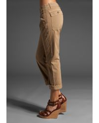 Current/Elliott | Brown The Army Pant | Lyst