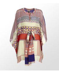 Issa | Multicolor Printed Tribal Kaftan for Men | Lyst