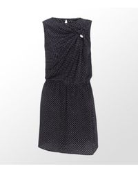 MAX&Co. | Blue Falsetto Polka Print Dress | Lyst