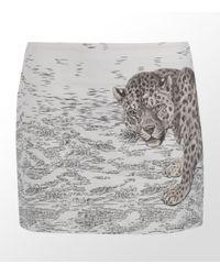 Paul by Paul Smith | Multicolor Leopard Mini Skirt | Lyst
