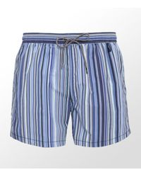 Paul Smith | Blue Classic Stripe Swim Short for Men | Lyst