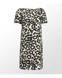See By Chloé | Multicolor Leopard Print Silk Shift Dress | Lyst