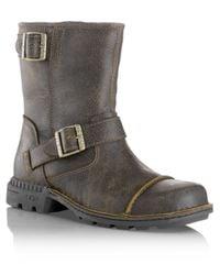 UGG | Brown Rockville Leather Boot for Men | Lyst
