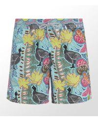 Vilebrequin | Multicolor Peacock Moorea Swim Short for Men | Lyst