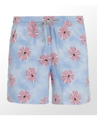 Vilebrequin | Blue Urchin Moorea Swim Short for Men | Lyst