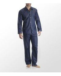 Zimmerli | Blue Polka Dot Pyjama for Men | Lyst