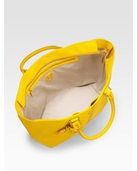 Tory Burch | Yellow Roslyn Tote Bag | Lyst