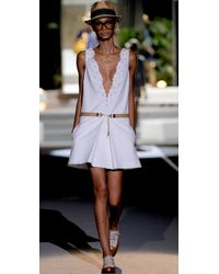 DSquared² | White Mini Dress | Lyst
