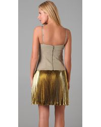 Elie Tahari | Natural Angela Bustier Top | Lyst
