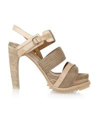 Rag & Bone | Natural Tameri Leather Multi-strap Sandals | Lyst