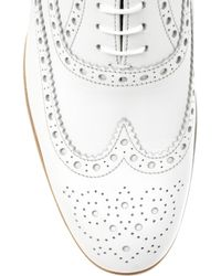 Church's - White Classic Brogues - Lyst