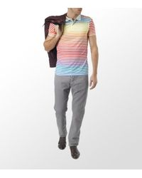 Junk De Luxe | Multicolor Stripe Polo Shirt for Men | Lyst