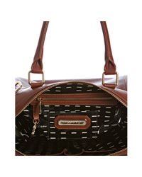 Rebecca Minkoff - Brown Auburn Leather Knocked Up Diaper Bag with Changing Mat - Lyst