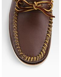 Timberland - Brown Abington Moccasins for Men - Lyst