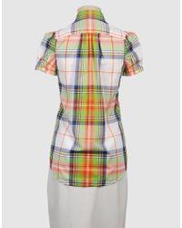 DSquared² - Multicolor Short Sleeve Plaid Pocket Shirt - Lyst
