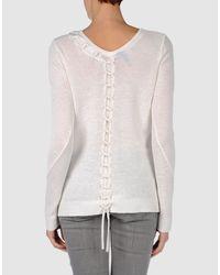 Edun | Black Braided V-neck Sweater | Lyst