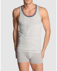 Guess | Gray Tank Top for Men | Lyst