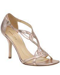 kate spade new york | Pink Lyon - Rose Leather Sandal | Lyst