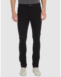 Acne | Black Casual Pants for Men | Lyst