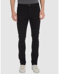 Acne Studios | Black Casual Pants for Men | Lyst
