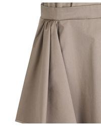 Carven - Natural Sleeveless Ruffle Dress - Lyst